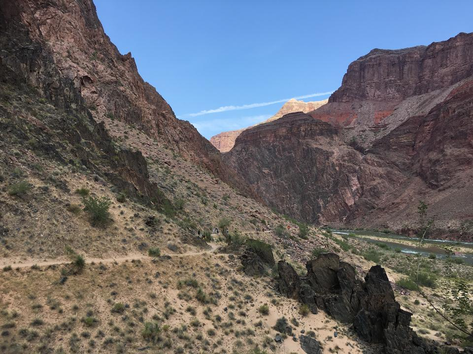 Grand Canyon south rim - Kaibab Trail