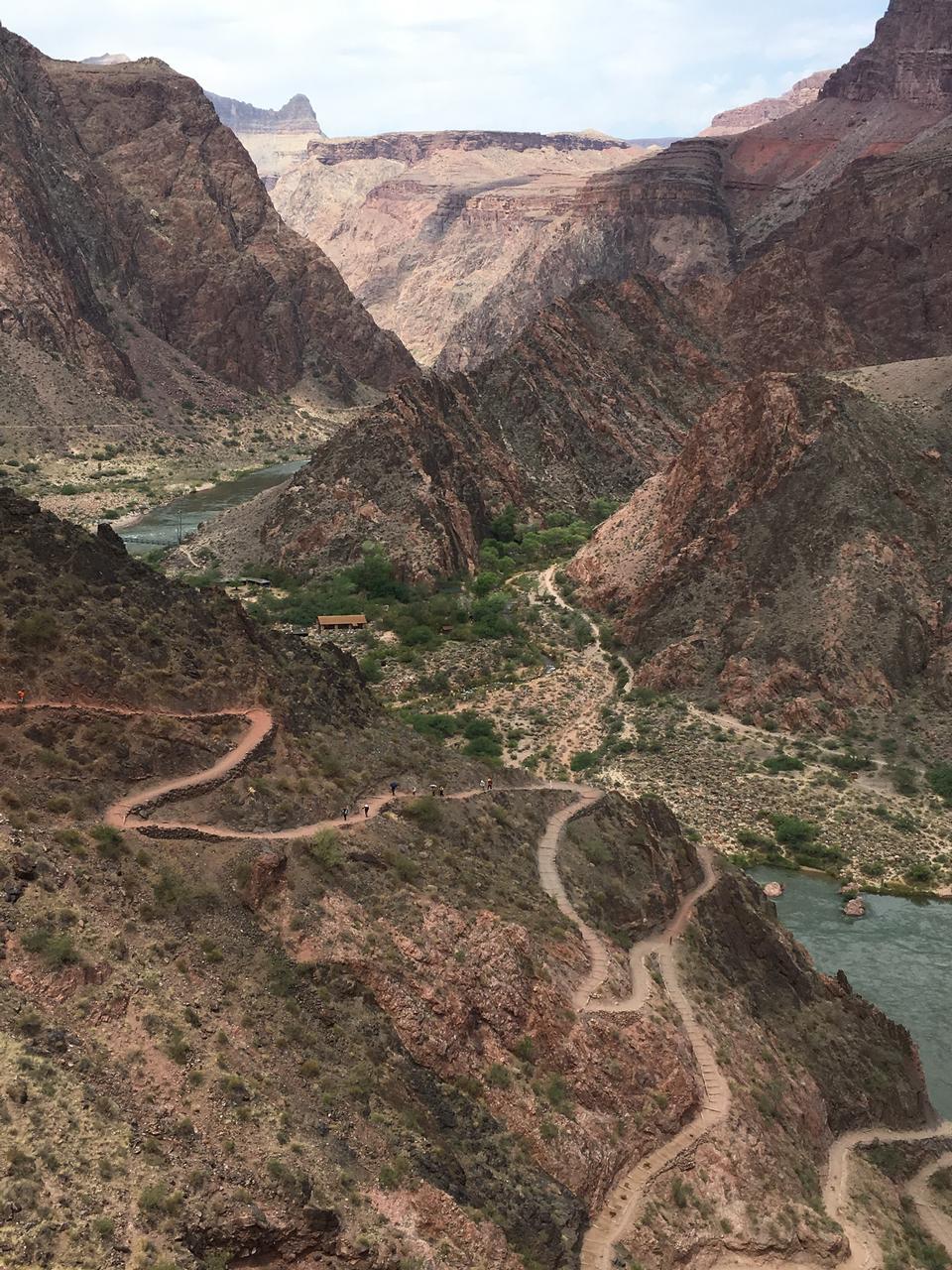 Colorado River In Grand Canyon