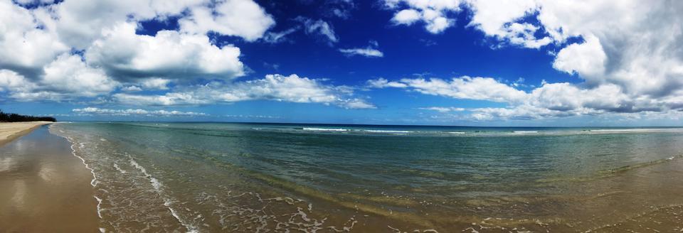 Moreton Bay Island Beach, QLD Australia