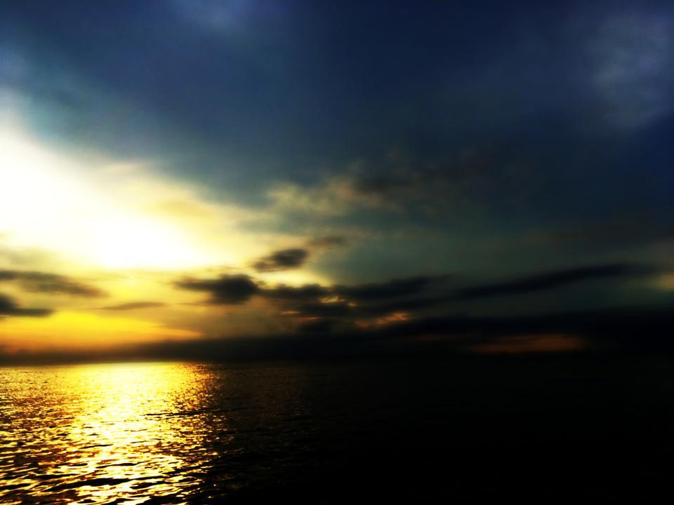 Sunset Over Moreton Bay, QLD Australia