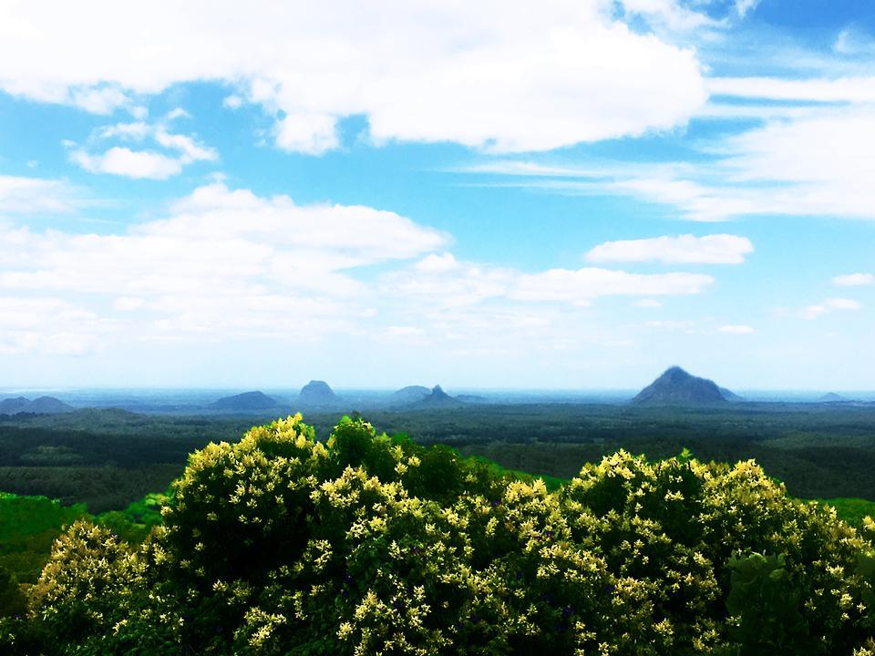 Montañas Glasshouse, QLD Australia