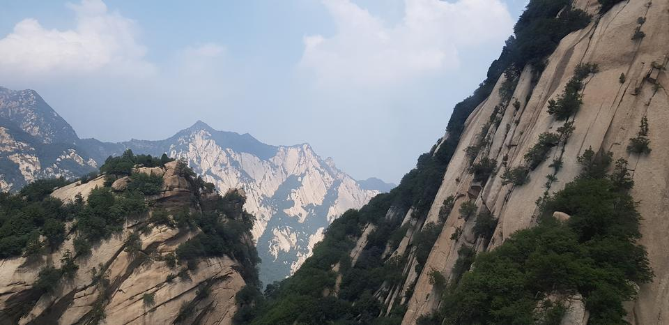 華山在中國陝西省