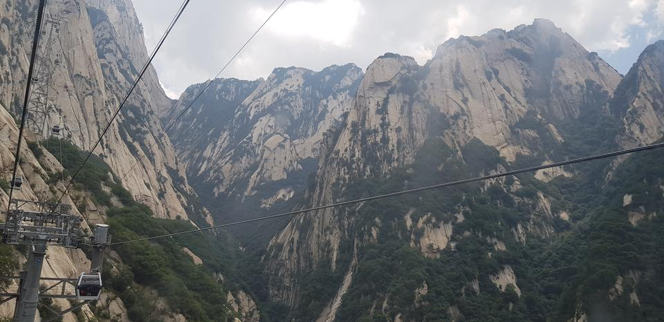 Mount Hua in Shaanxi province, China