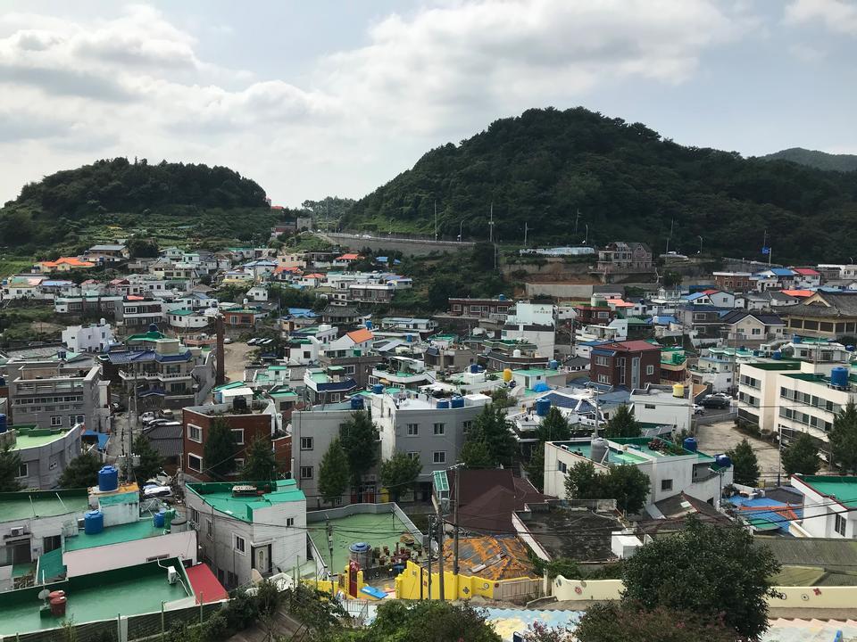 韓国の統営市
