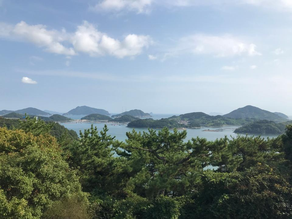 Hallyeosudo National park in Tongyeong, South Korea