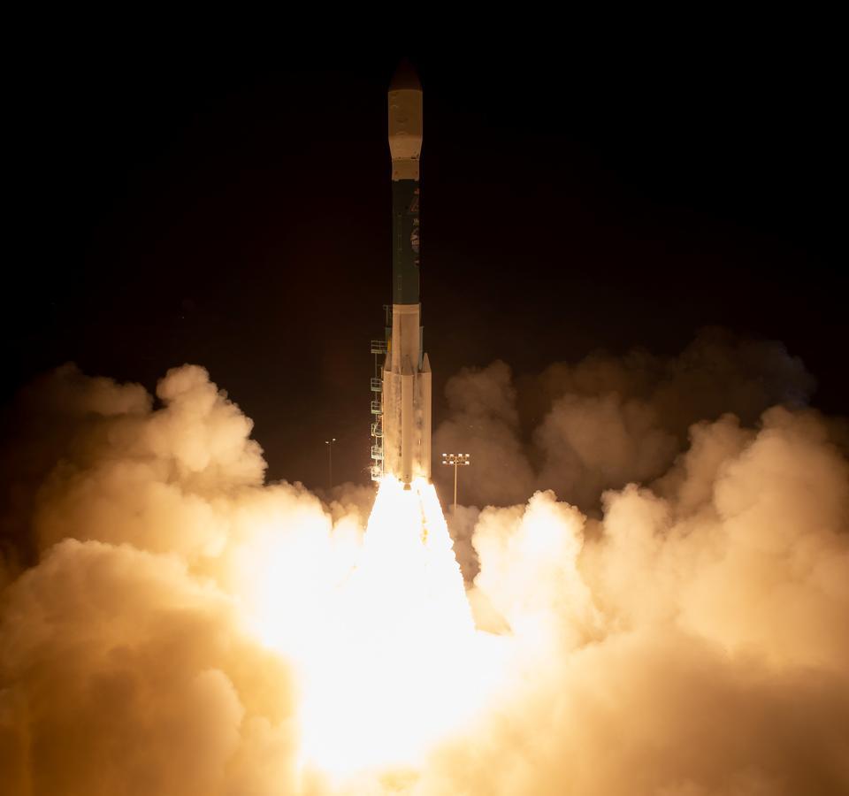 Delta II rocket launches