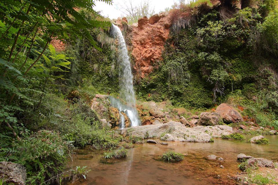 waterfall in Anna, Valencia, Spain