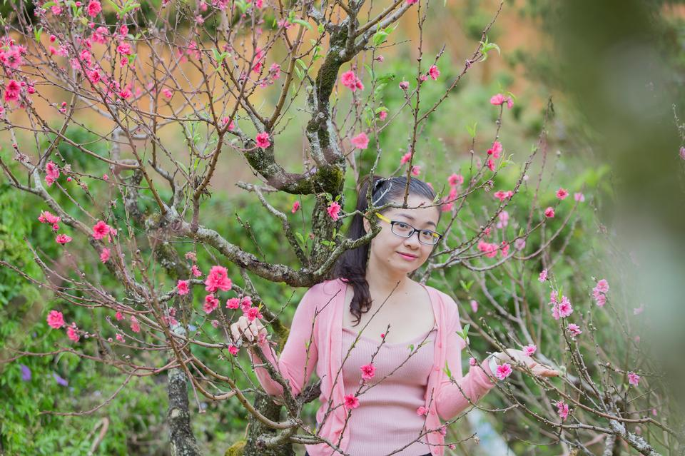 아름다운 아시아 소녀