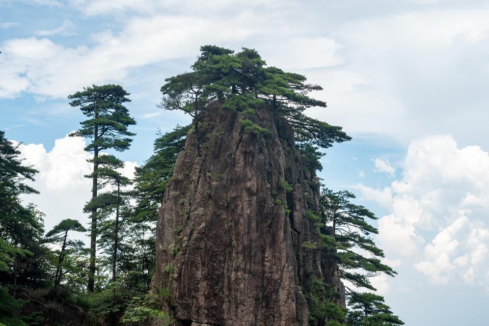 Huangshan mountain, Huangshan, Anhui, China