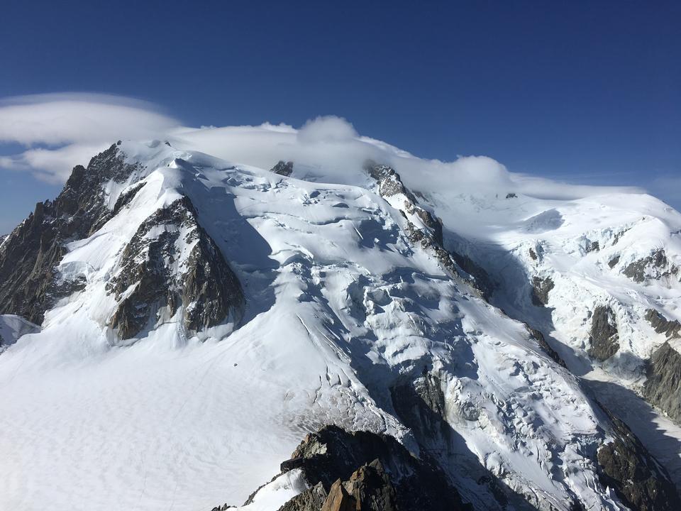 The famous Tour du Mont Blanc near Chamonix, France