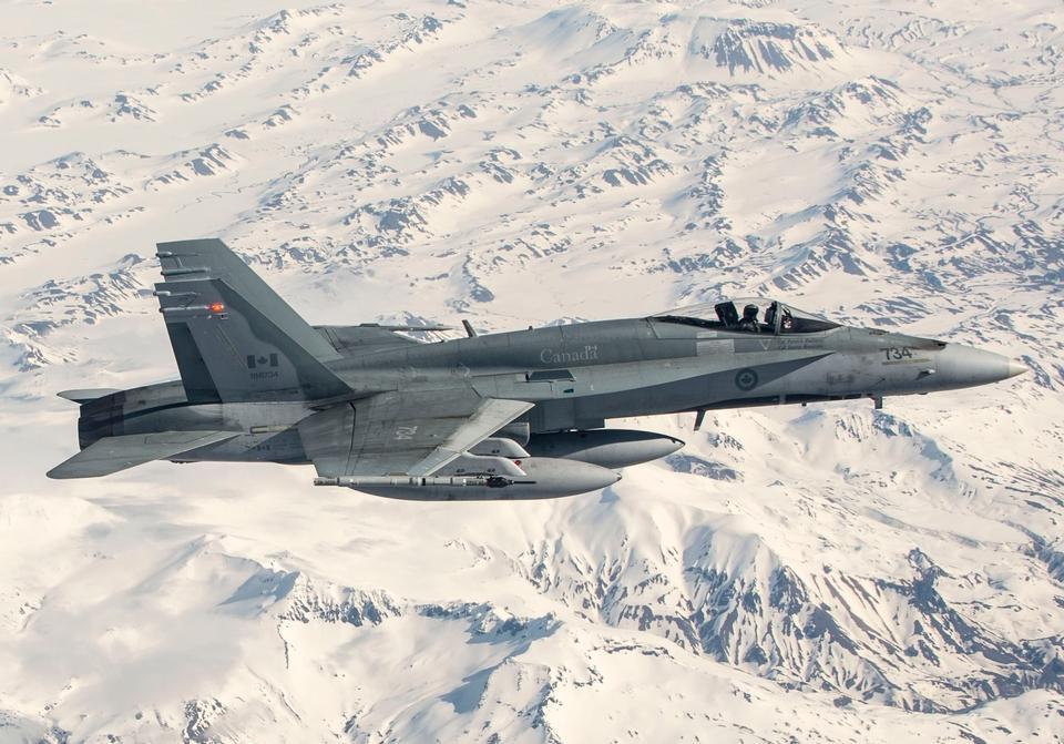 F-18 Hornets Kämpfer