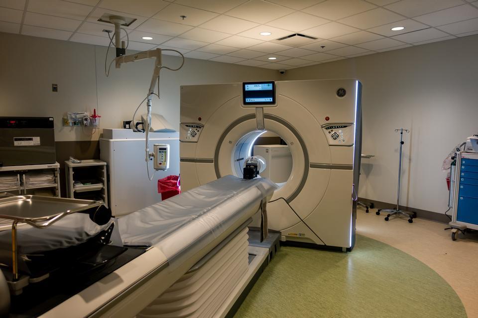 MRI - Magnetic resonance imaging scan device in Hospital