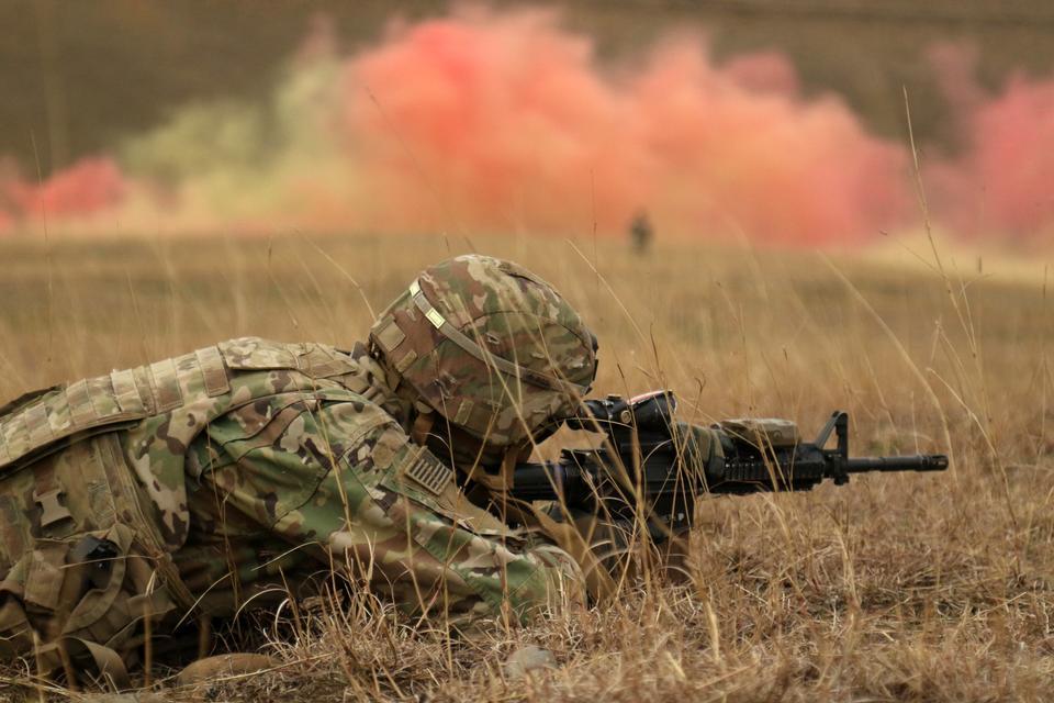 Forze armate georgiane completano l'evento aziendale