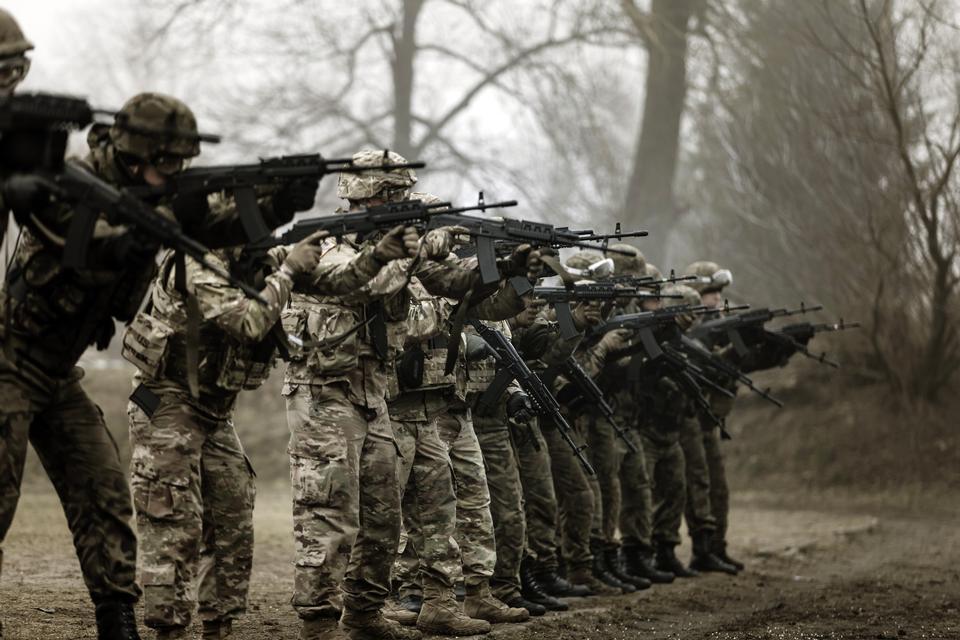 The U.S. Army Spartan Training