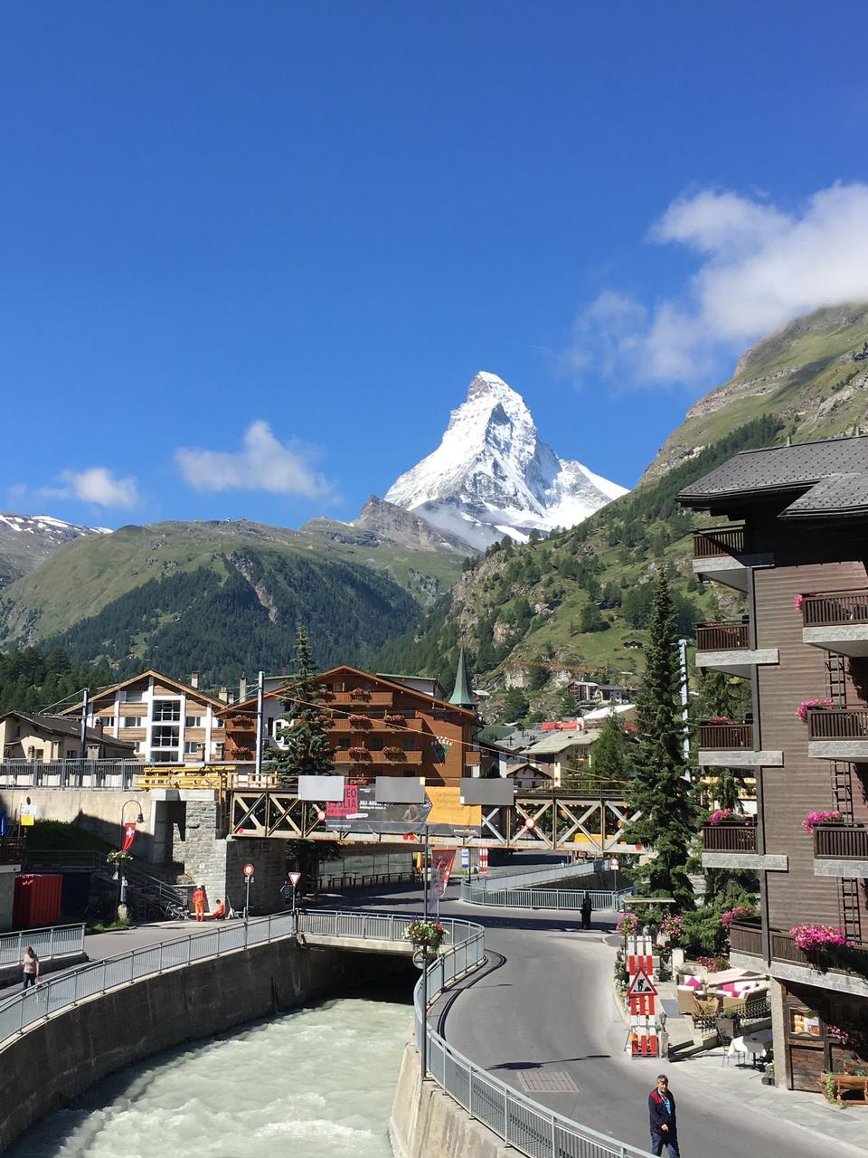 Chamonix-Mont-Blanc village