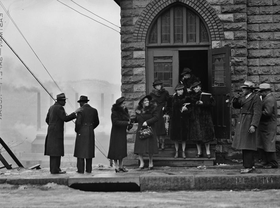 黒人教会の会衆