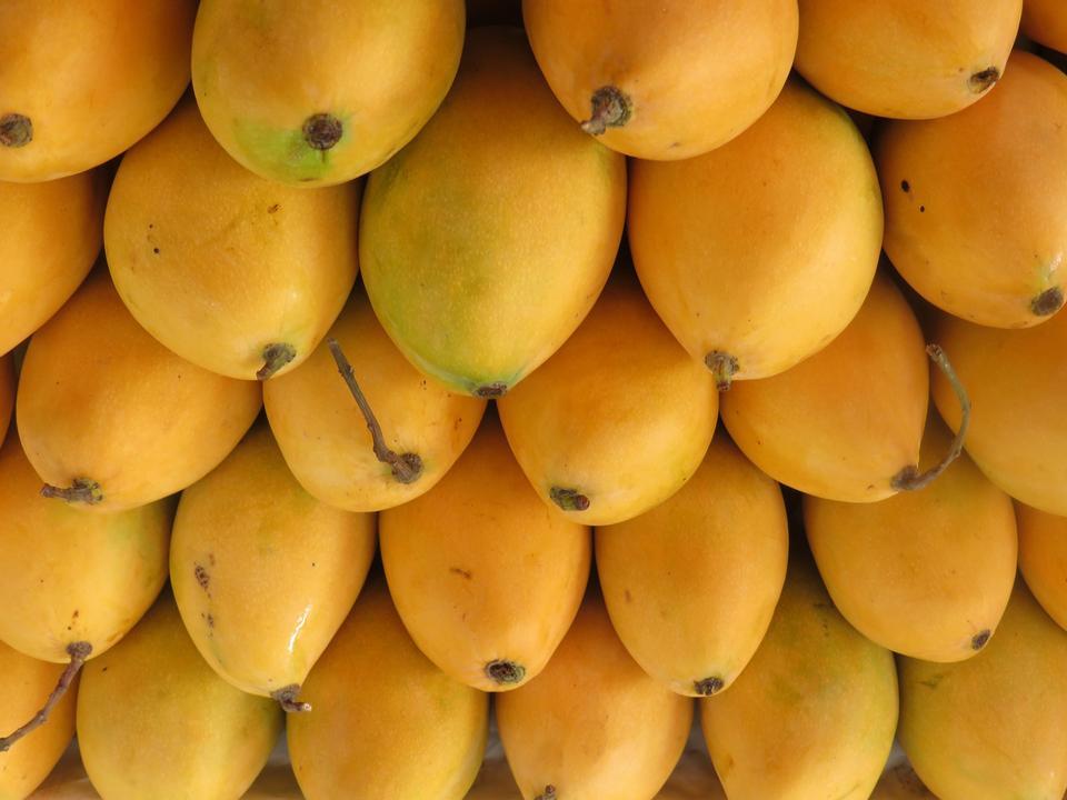 Thai fruit, ripe mango