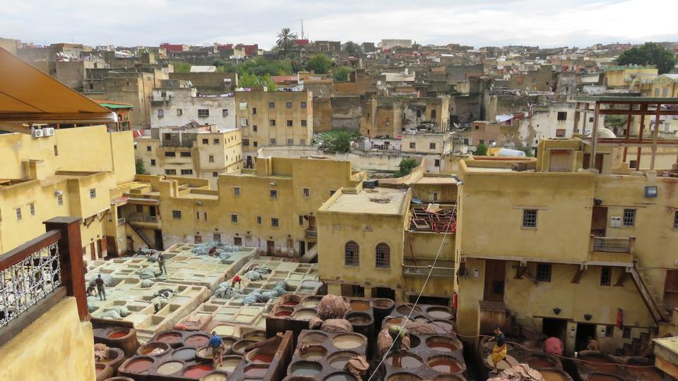 Tanneries, Medina of Fez, Morocco