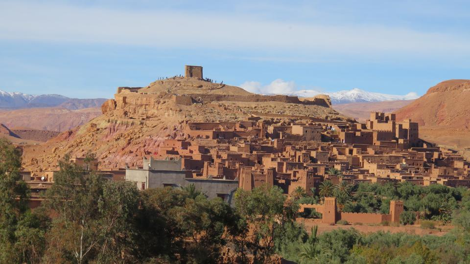 Kasbah Ait Ben Haddou in the Atlas Mountains of Morocco