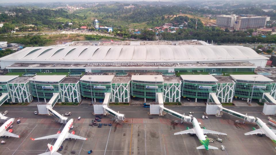 Aeroporto Sepinggan a Balikpapan, East Kalimantan