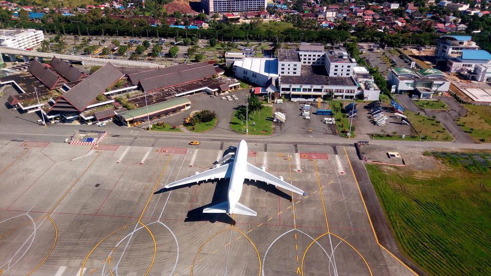 Sepinggan Airport in Balikpapan, East Kalimantan