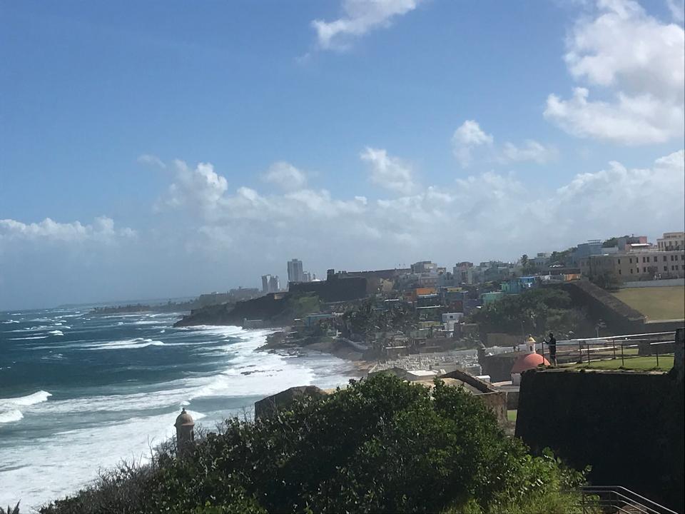 Beautiful view of El Morro