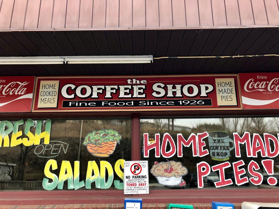 Sign Board Coffee Shop