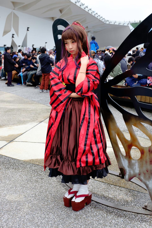 日本動漫角色扮演女人