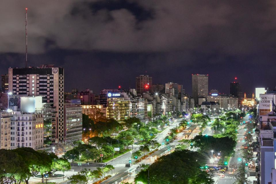 cityscape in Buenos Argentina
