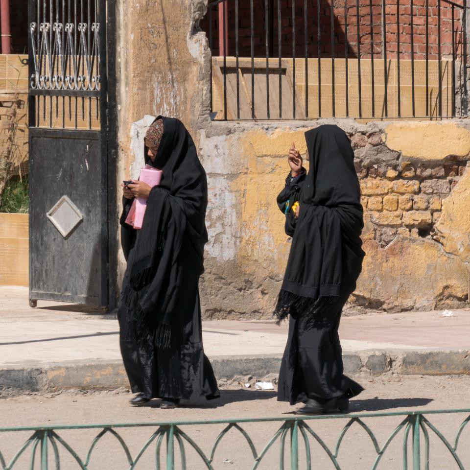 Muslim women dressing Hijab