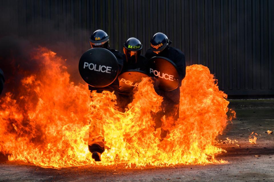 psu training police