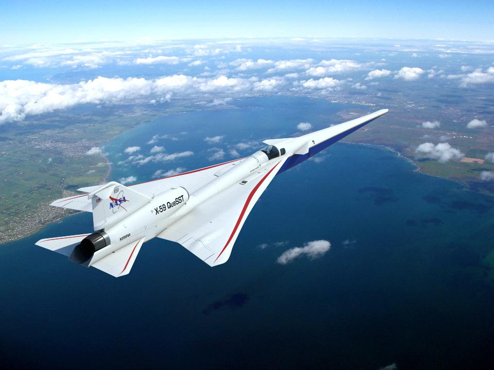 X-59 QueSST Airplane Takes Shape