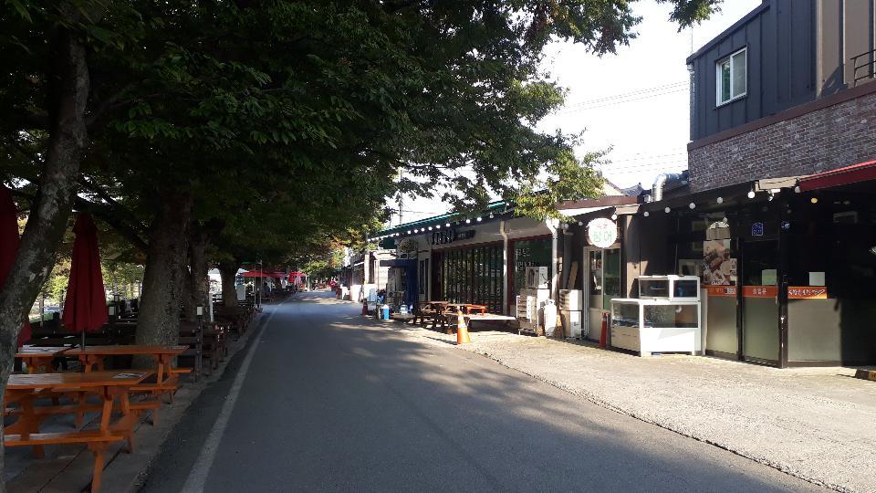 韩国潭阳的面条街