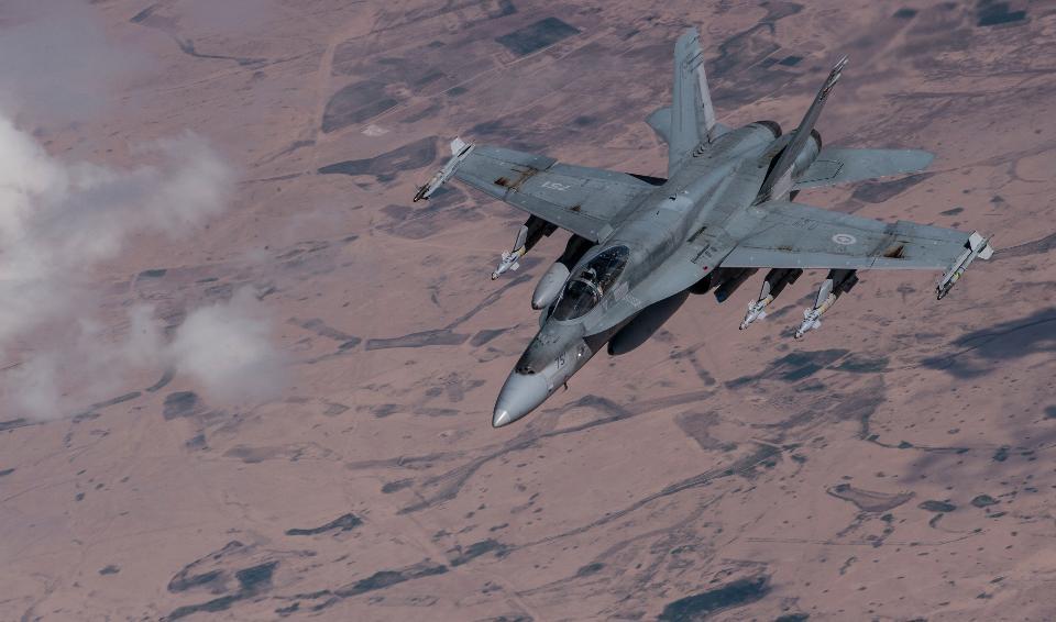 Air Force McDonnell Douglas CF-188 Hornet