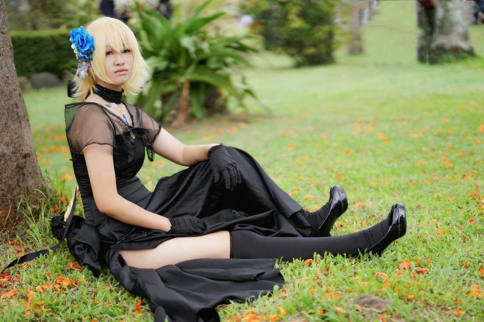 Japan anime cosplay Girl