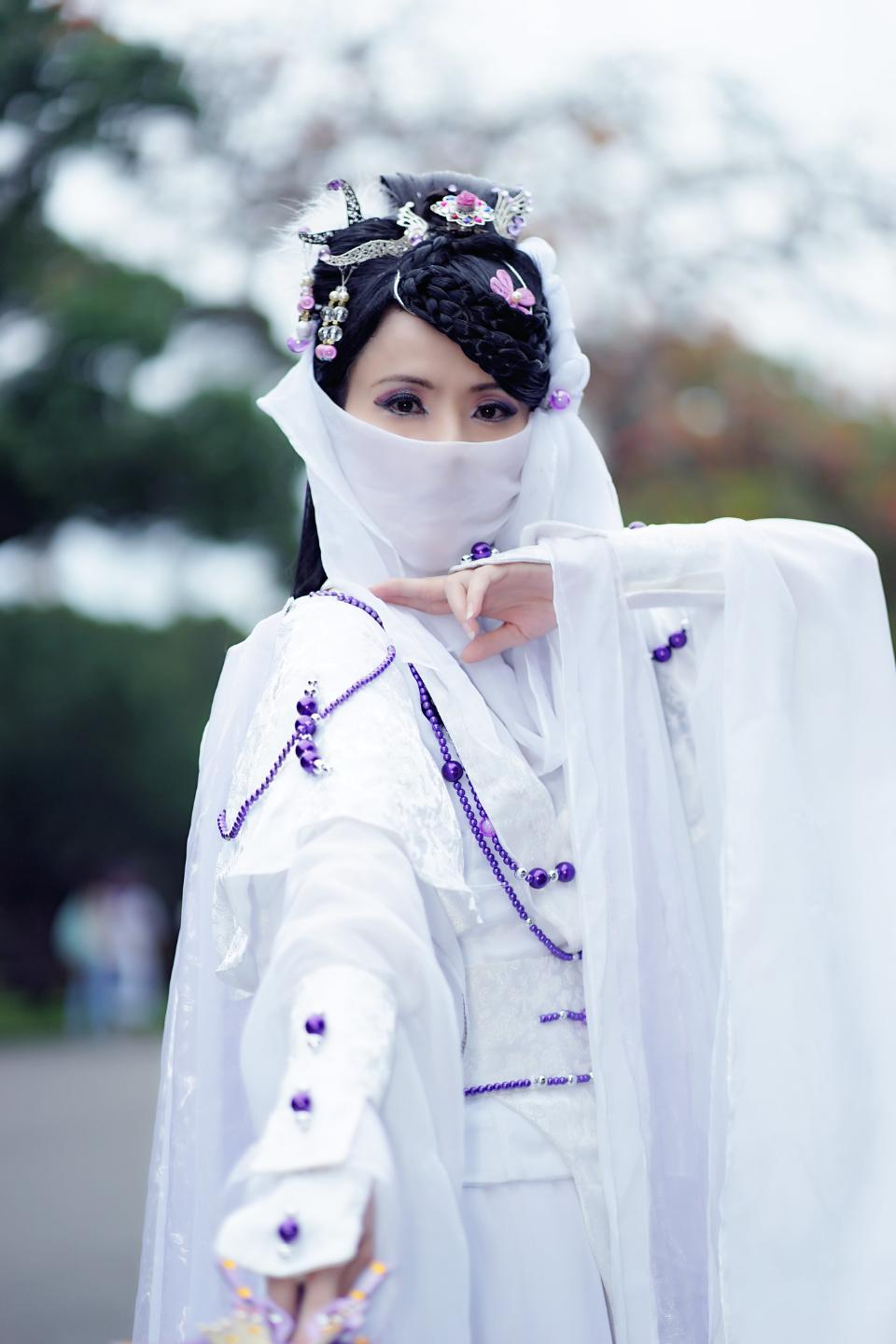 Japan anime cosplay Girl