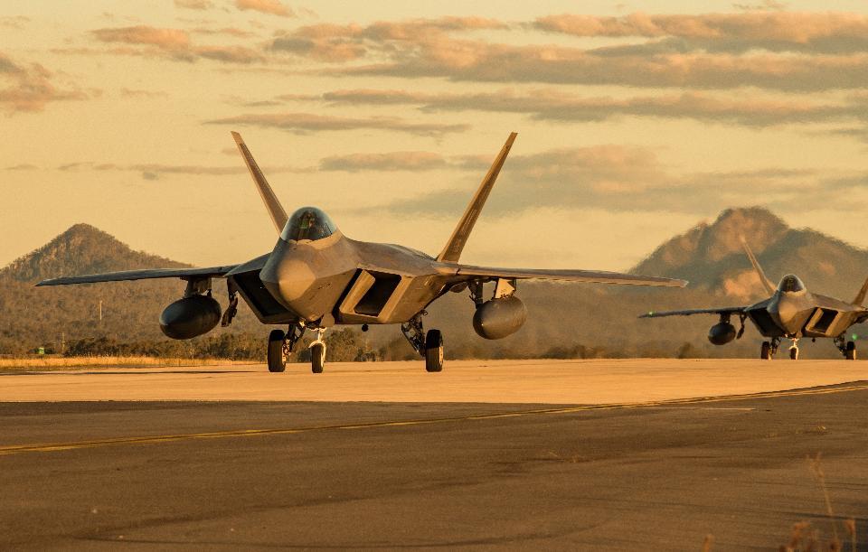 Lockheed Martin F-22 Raptors
