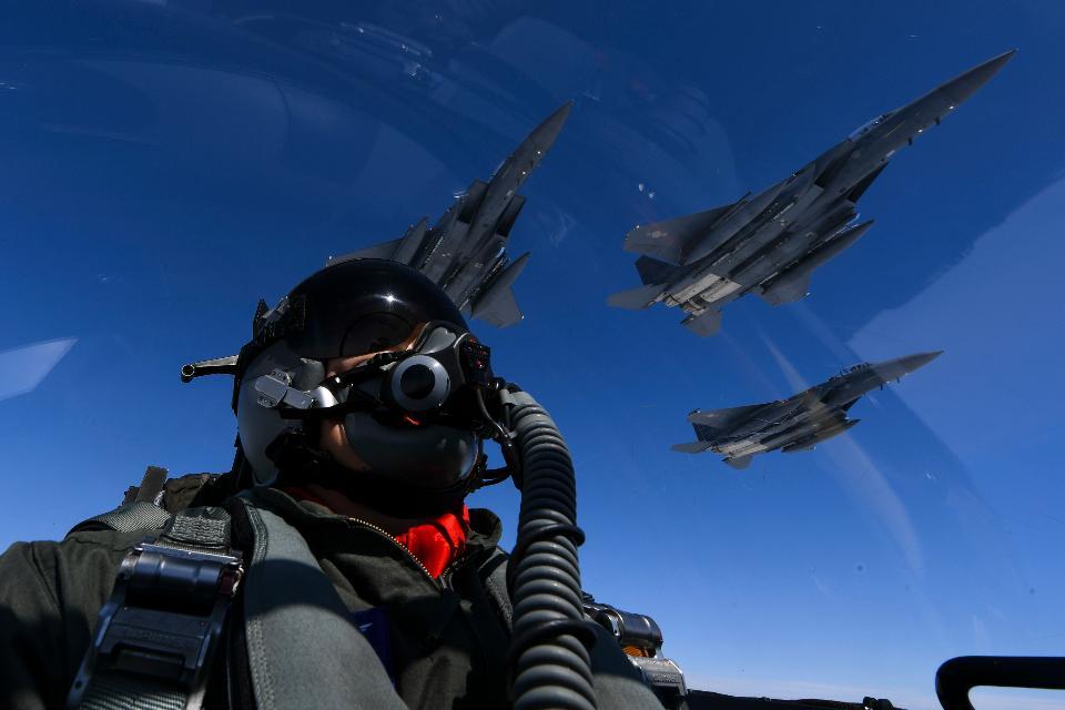 U.S. Air Force Rockwell B-1B Lancers