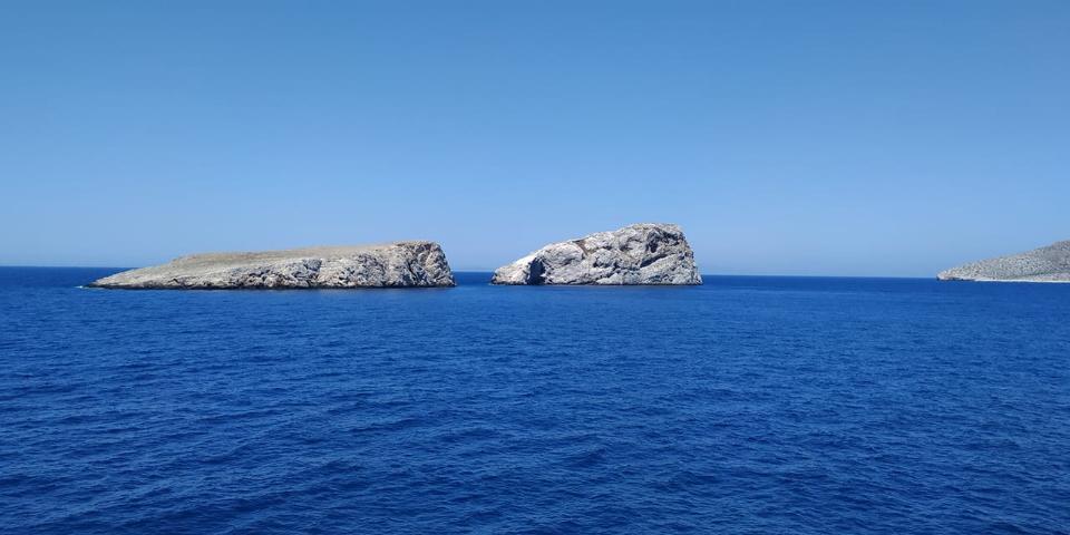 锡基诺斯岛希腊夏天
