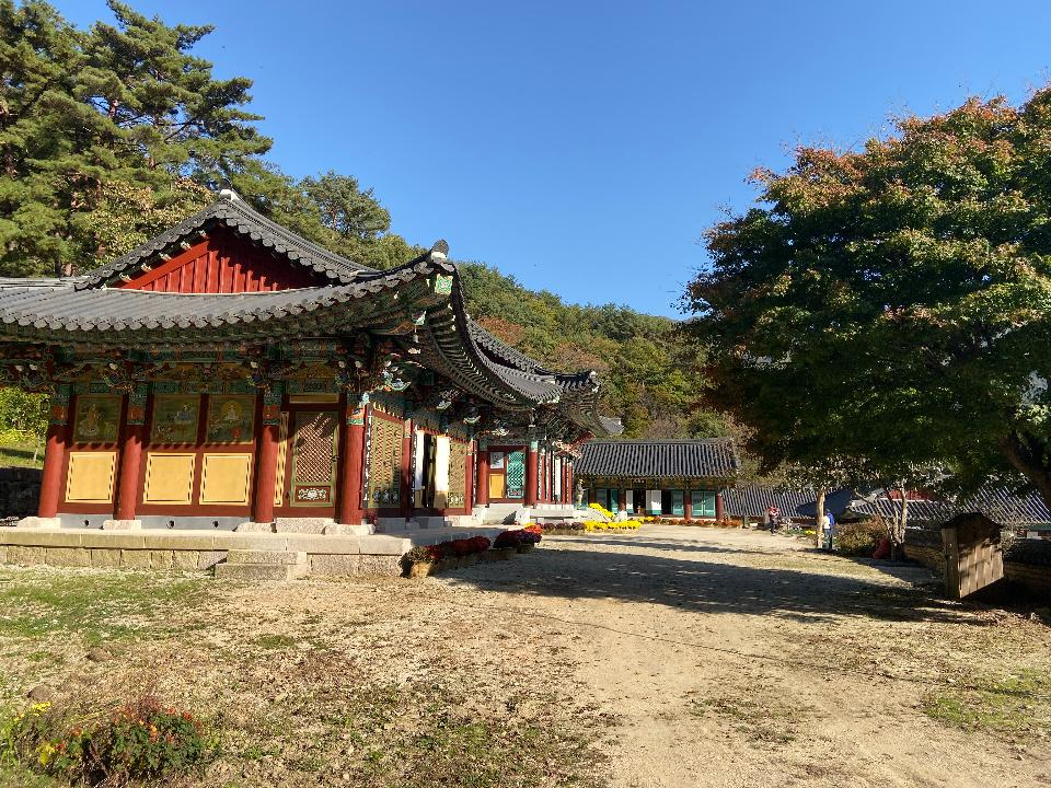 Yeongoksa Temple in Gurye South Korea