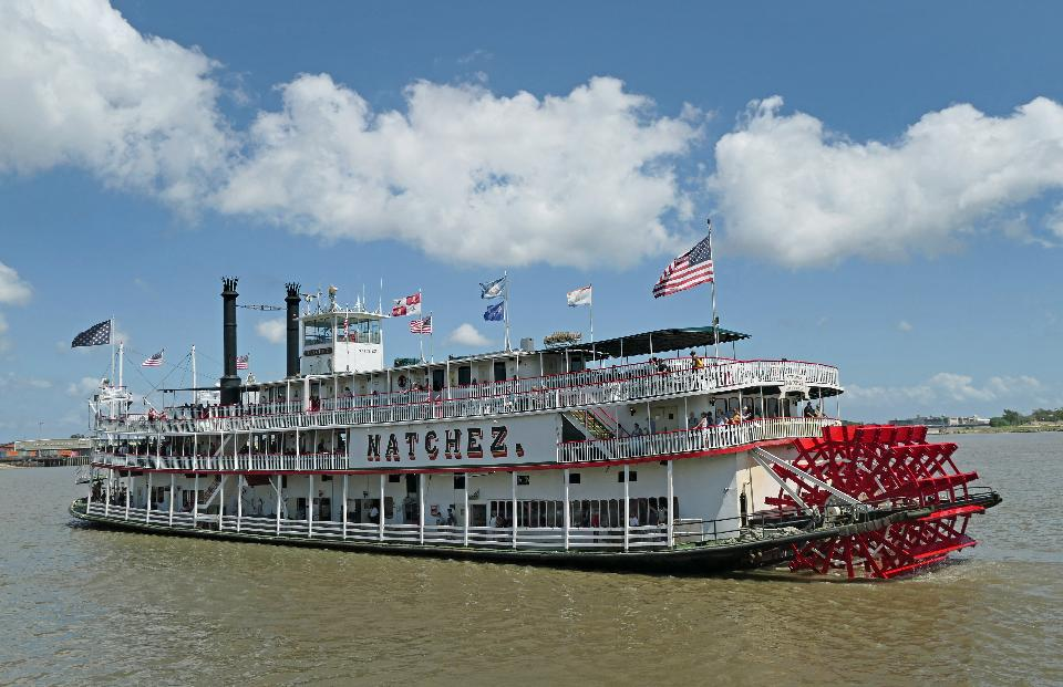 Steamboat Natchez. New Orleans