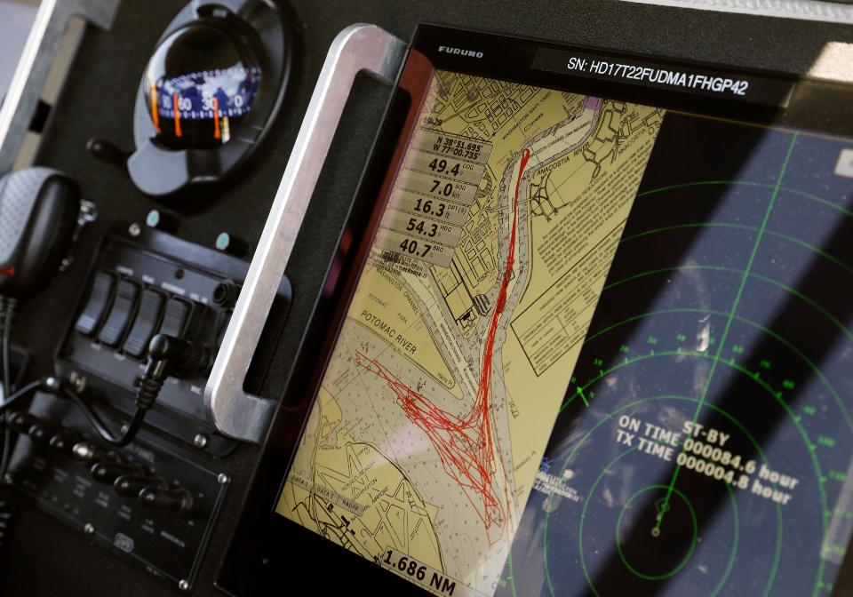 touchscreen navigation and Radar Screen