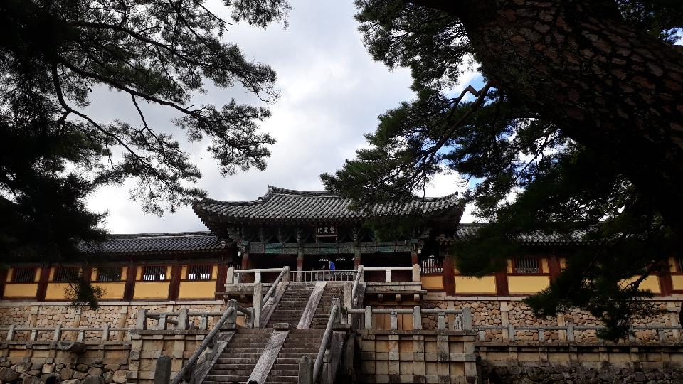 Bulguksa temple in Gyeongju South Korea