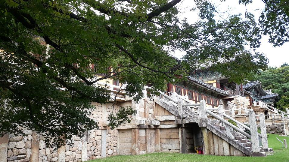 Bulguksa temple in Gyeongju South Korea
