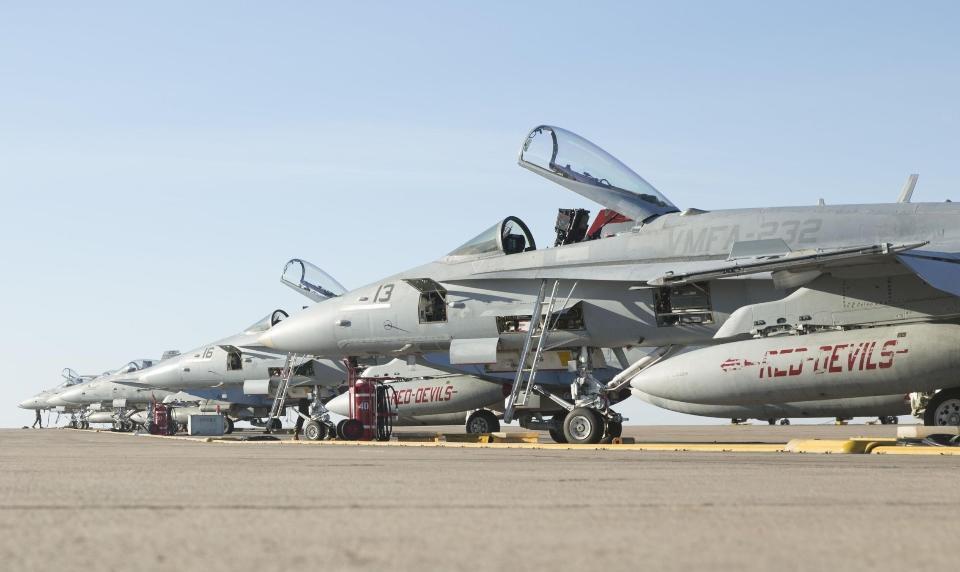 U.S. Marine Corps FA-18C Hornet aircraft