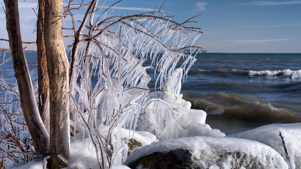 Lake OntarioDarling park in Mississauga