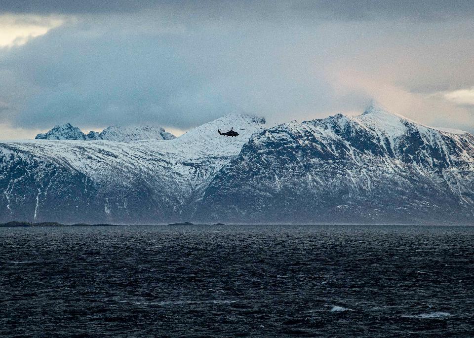 An MH-60R Sea Hawk