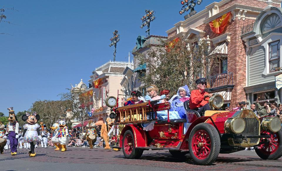 The Disney Parade
