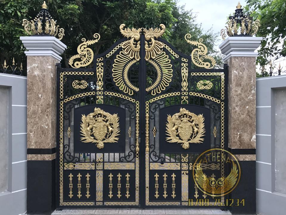 CNC gate in Hue ATHENA