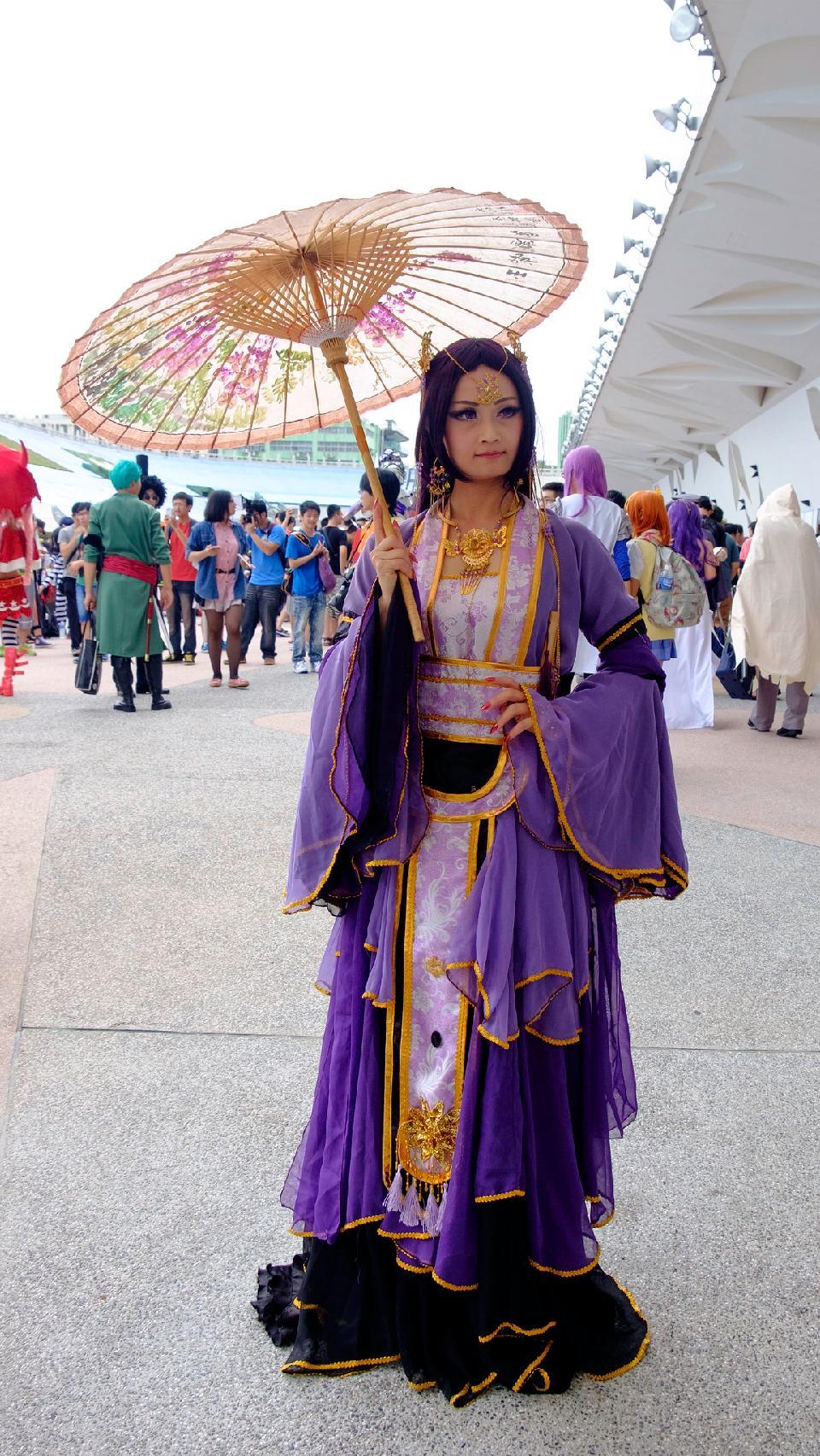 Anime cosplay Costume sexy Woman